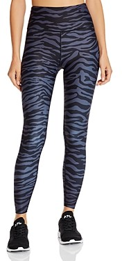 Aqua Athletic Zebra Print Leggings - 100% Exclusive