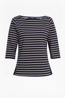 French Connection Tim Tim Colour Block Stripe T-Shirt