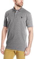 U.S. Polo Assn. Men's Solid Interlock Polo Shirt