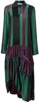 J.W.Anderson drop-waist hoop skirt panelled dress