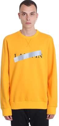 Lanvin Sweatshirt In Orange Cotton