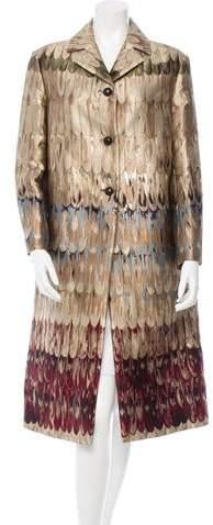 Valentino Fall 2015 Brocade Coat w/ Tags