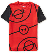 Under Armour Big Boys 8-20 Full Court Short-Sleeve Tee