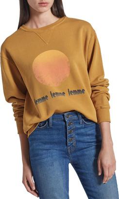 Current/Elliott The Isabella Graphic Sweatshirt