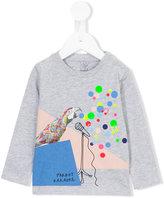 Stella McCartney parrot print sweatshirt - kids - Cotton - 12 mth