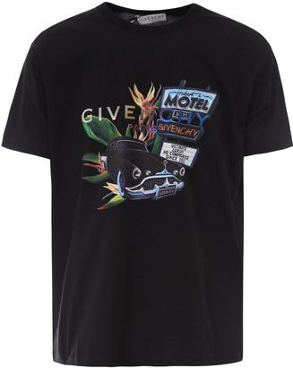 Givenchy Logo Graphic Print T-Shirt