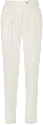Giuliva Heritage Collection Husband Linen Tapered Pants