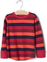Gap Stripe waffle knit tee