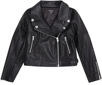 Bardot Junior Girl's Kora Faux-Leather Biker Jacket