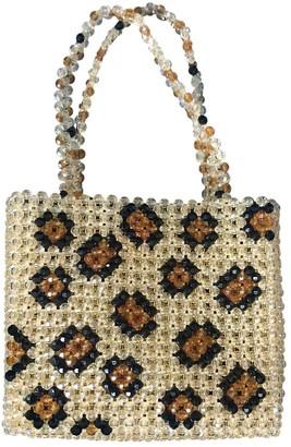 Susan Alexandra Yellow Plastic Handbags