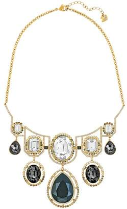 Swarovski Darling Bezel Set Multicolored Crystal Statement Necklace