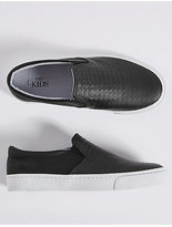 Marks and Spencer Kids' Slip-on Fashion Trainers