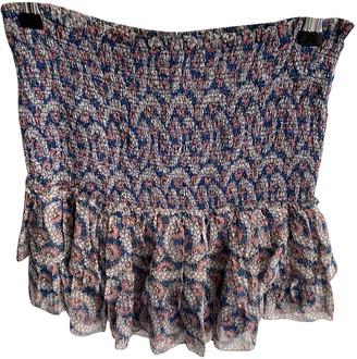 Etoile Isabel Marant Blue Silk Skirt for Women