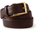 Classic Men's Glove Leather Belt-Brown
