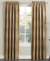 "Sun Zero Closeout! Paige Woven Damask Room Darkening Curtain 52"" x 95"" Panel"