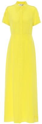 Diane von Furstenberg Georgia silk-crepe maxi shirt dress