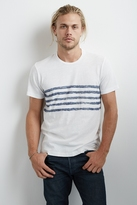 Peter Graphic Stripe Tee Shirt