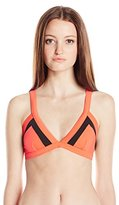 Rip Curl Women's Mirage Colorblock Triangle Bikini Top