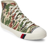 Pro-Keds Off White Royal Camo High Top Sneakers
