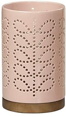 Orla Kiely Linear Stem Large Ceramic Lantern | Pink
