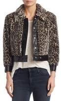 Mother Boxy Faux Fur Jacket