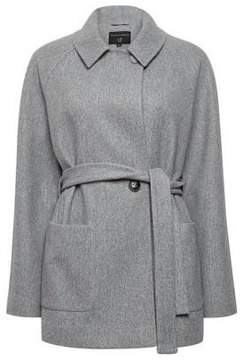 Dorothy Perkins Womens Grey Short Wrap Jacket, Grey