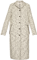 Nina Ricci Single-breasted tweed coat