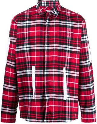 Craig Green Long Sleeved Cotton Shirt