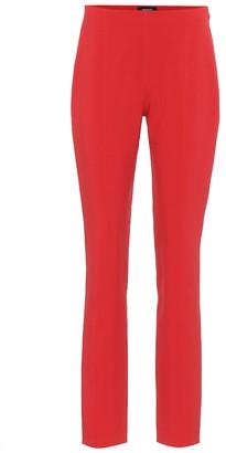 Thierry Mugler Stretch-crepe skinny pants