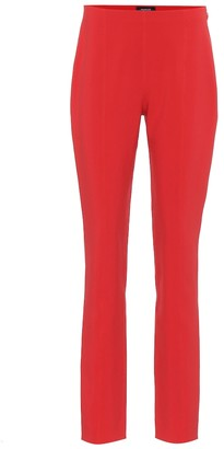 Thierry Mugler Stretch-crApe skinny pants