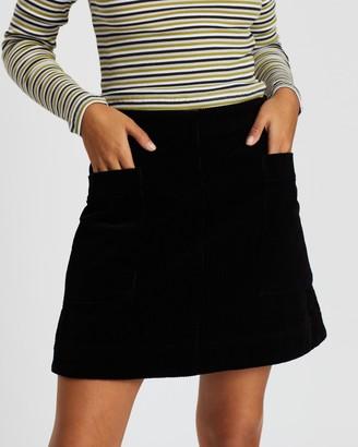 Nude Lucy Corduroy Mini Skirt