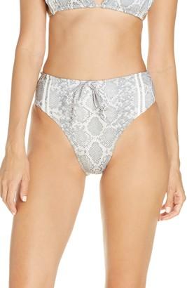 Frankie's Bikinis Jetty High Waist Bikini Bottoms