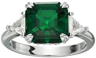 Swarovski Trilogy Ring (CZ Emerald) Ring
