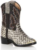 Durango Lil Baby Snake Print Cowboy Boots
