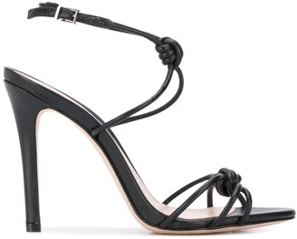 Schutz Strappy High Heel Sandals