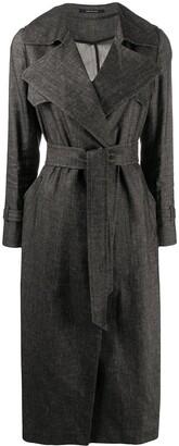 Tagliatore Carola belted trench coat