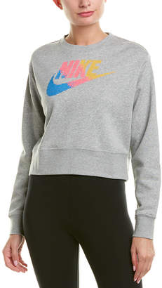 Nike Loose Fit Embroidered Sweatshirt