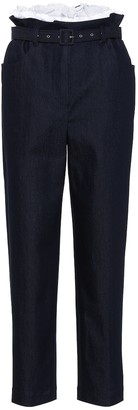 Isa Arfen Paperbag high-waisted jeans