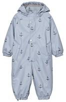 Mini A Ture Ashley Blue Reinis Print Lining Snowsuit