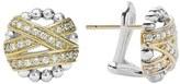 Lagos 'Diamonds & Caviar' Diamond Stud Earrings