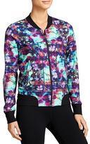 Athleta Floral Fade Bombtastic Jacket