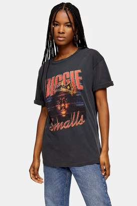 Topshop Biggie Smalls T-Shirt by And Finally