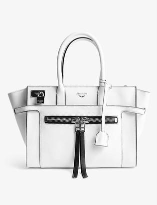 Zadig & Voltaire Medium Candide leather tote bag