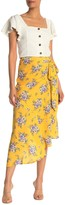 Yumi Kim Live It Up Floral Faux Wrap Skirt
