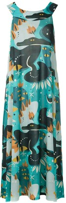 Lygia & Nanny Manati printed jersey dress