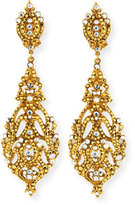 Jose & Maria Barrera Austrian Crystal Pendant Earrings