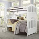 Hillsdale Kids and Teen Lake House Adrian Bunk Twin/Twin Bed in White