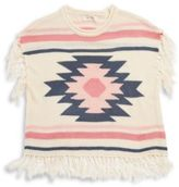 Jessica Simpson Fringe Knit Sweater