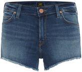 Lee Regular Jean Shorts In Midtown Blues