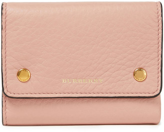 Burberry Pebbled-leather Wallet